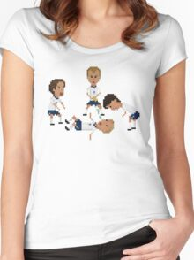 Dentist Chair Women's Fitted Scoop T-Shirt