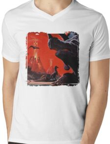 Fantasia Mens V-Neck T-Shirt