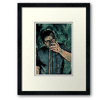 Inhale Framed Print