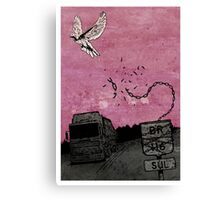 Ascend (Meninadanca Charity Print) Canvas Print