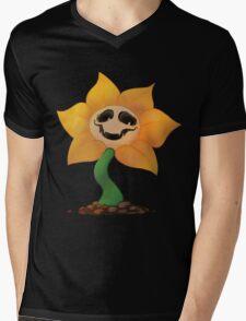 Flowey T Shirt Mens V-Neck T-Shirt