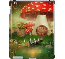 Creative cartoon mushrooms iPad Case/Skin