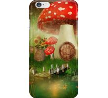 Creative cartoon mushrooms iPhone Case/Skin