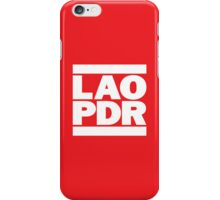 LAO PDR iPhone Case/Skin