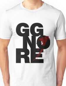 GG NO RE black Unisex T-Shirt