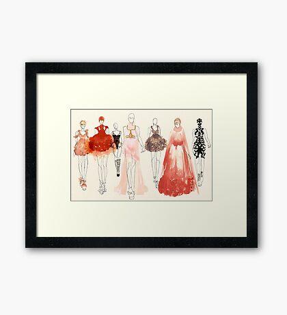 Alexander McQueen - 2013 Favorites Framed Print