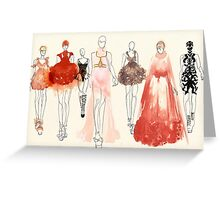 Alexander McQueen - 2013 Favorites Greeting Card