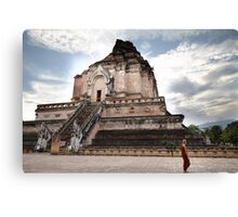 Temple in Chiang Mai Canvas Print
