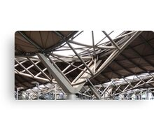 Looking Up! Spencer St. Railway Station, C.B.D. Melbourne. Vic. Canvas Print