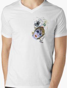 Belligerent Mens V-Neck T-Shirt
