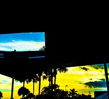 Hollywood Sunset Taco Bar Photograph #1 by heckler
