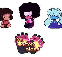 Garnet, Ruby, Sapphire [Stickers] by AjaSama