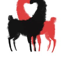 Llama Llove by chadcameron