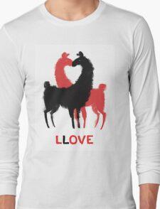 Llama Llove Long Sleeve T-Shirt