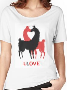 Llama Llove Women's Relaxed Fit T-Shirt