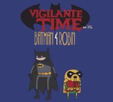 Vigilante Time with Batman & Robin by zblues