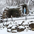 Upon the Hill a Grotto by Sandra Fortier