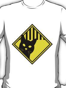 Cat Warning T-Shirt