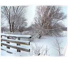 Laden with Snow Poster
