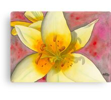 Fourth of July Flower Canvas Print