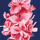 Madder Lake Flowers by Ken Powers