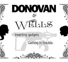 Donovan & Wells by eljayearthgirl