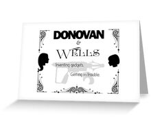 Donovan & Wells Greeting Card