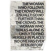 Einstein once said... Poster