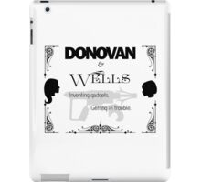 Donovan & Wells iPad Case/Skin