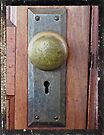 Old Door Knob by Susan S. Kline