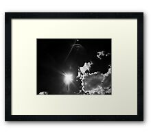 ©TSS The Sun Series XVI Impress Monochrome Framed Print