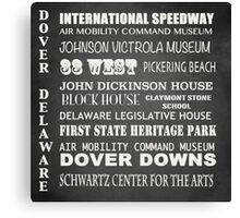 Dover Famous Landmarks Canvas Print