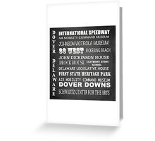 Dover Famous Landmarks Greeting Card