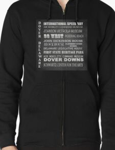 Dover Famous Landmarks Zipped Hoodie