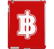 BAHT SIGN ฿ Thai Money Currency ฿ iPad Case/Skin