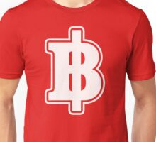BAHT SIGN ฿ Thai Money Currency ฿ Unisex T-Shirt