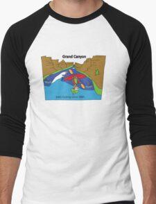 Grand Canyon - Eddy Fucking (no raft names) Men's Baseball ¾ T-Shirt