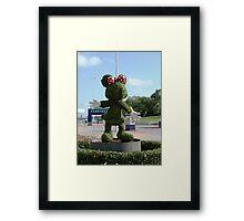 Minnie shrub Framed Print