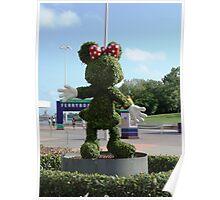 Minnie shrub Poster