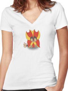 Litleo Women's Fitted V-Neck T-Shirt