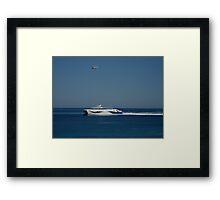 Ocean Luxury Framed Print