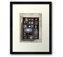 Cosmic Curios Framed Print