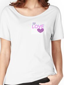 LOVE xoxo Women's Relaxed Fit T-Shirt