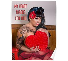 My Heart Throbs For You! Poster