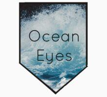 Ocean Eyes Pocket by Purplehead97