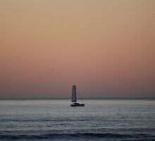Alone at Sea by Lisa Azzolino