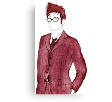 Tenth Doctor! Canvas Print