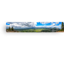 Peak of Mt. Bunsen, Yellowstone Natl. Park Canvas Print