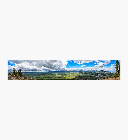 Peak of Mt. Bunsen, Yellowstone Natl. Park Photographic Print