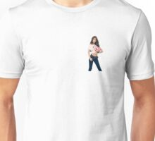Sooyoung Badge where your pocket should be. Unisex T-Shirt
